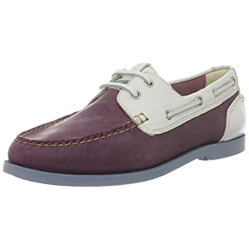 Cole Haan Air Yacht Club Boat: Hibiscus Suede / White