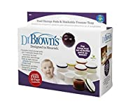 Dr. Brown's Designed To Nourish Flexpods Storage Jars and Stackable Freezer Trays (Discontinued by Manufacturer) by Dr. Brown's [並行輸入品]