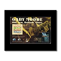 GARY MOORE - Old New Ballads Blues Mini Poster - 21x13.5cm