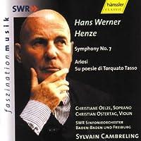 Henze: Symphony No.7, Ariosi, Su poesie di Torquato Tasso
