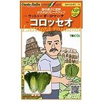 レタス(ロメイン) 種【ラットゥーガ・ロマーナ コロッセオ 】小袋(80粒)