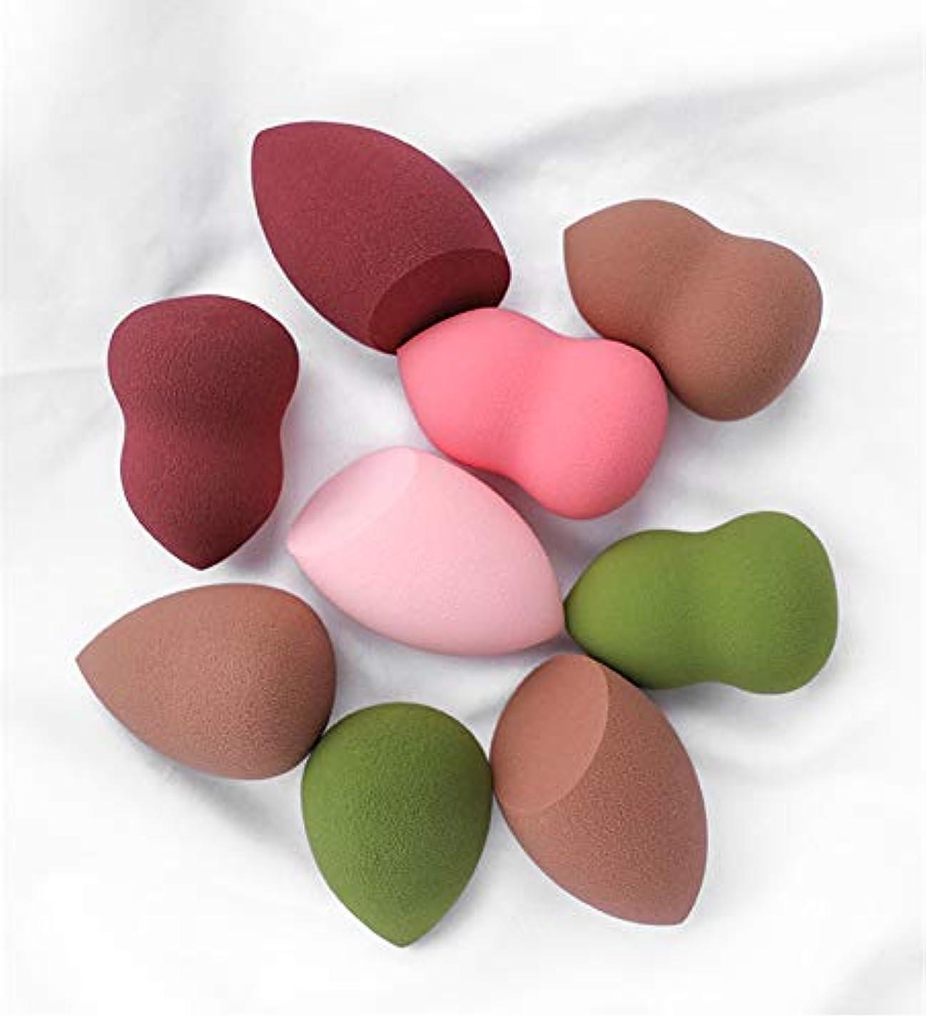 チャンピオンシップ材料心理的Sweetimes メイクスポンジ スポンジパフ 化粧 2色3形6点セット No.129