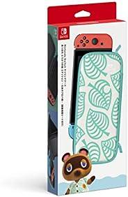 Nintendo Switchキャリングケース あつまれ どうぶつの森エディション ~たぬきアロハ柄~(画面保護シート付き) 【Amazon.co.jp限定】オリジナルデジタル壁紙(PC・スマホ) 配信 付