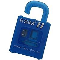 R-SIM11 iPhone7 / 7 Plus / 6S / 6S Plus / SE / 6 / 6 Plus /5S /5C /5 sim 国内ドコモ格安シム用シムロック解除アダプタ iOS10-7 対応 SIM Unlock アンロック SIMフリー 解除アダプター RGKNSE/rsim/