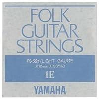 YAMAHA/ヤマハ FS-521×12 フォーク弦/ライト/1弦×12(FS521)