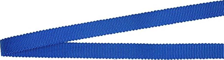 ペースタヒチ気候の山ベルアート グログランリボン ポリエステル 25mm巾 3mカット Col.76 ブルー 系 AZBEL-9990
