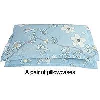 GentmanベッドシートFittedクイーンベッドスカート花柄肌に優しい生地 – 快適、通気性、ソフト EIIE