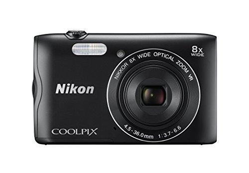 Nikon デジタルカメラ COOLPIX A300 光学8倍ズーム 2005万画素 ブラック A300BK -