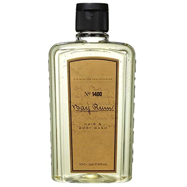 姓嘆願ケーブルカー[C.O. Bigelow] C.O.ビゲローベイラム髪とボディウォッシュ - C.O. Bigelow Bay Rum Hair And Body Wash [並行輸入品]
