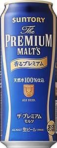 サントリー ザ・プレミアム・モルツ 香るプレミアム 500ml×24缶