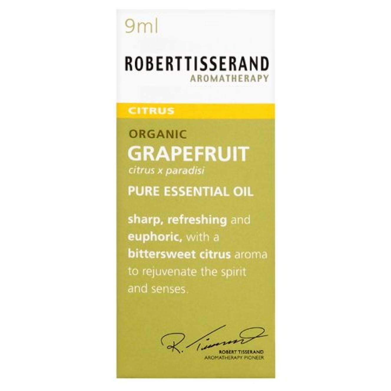 密奨励します下向きロバートティスランド 英国土壌協会認証 オーガニック グレープフルーツ 9ml