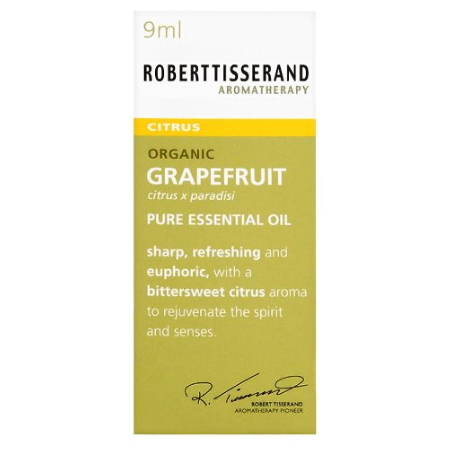 群衆麻酔薬気味の悪いロバートティスランド 英国土壌協会認証 オーガニック グレープフルーツ 9ml