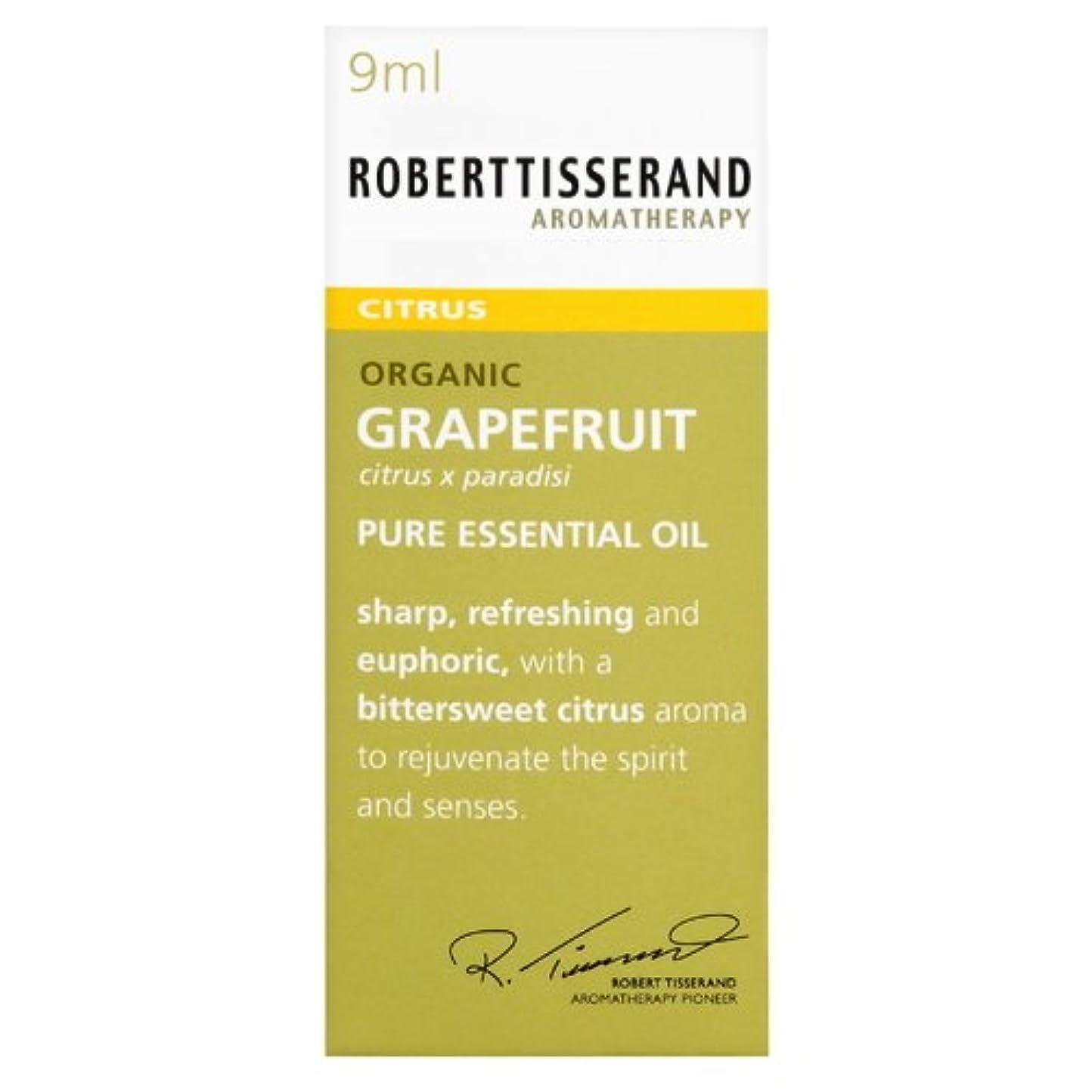 フロンティア電圧スチールロバートティスランド 英国土壌協会認証 オーガニック グレープフルーツ 9ml