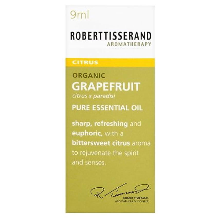 リーフレット恐れ牛ロバートティスランド 英国土壌協会認証 オーガニック グレープフルーツ 9ml