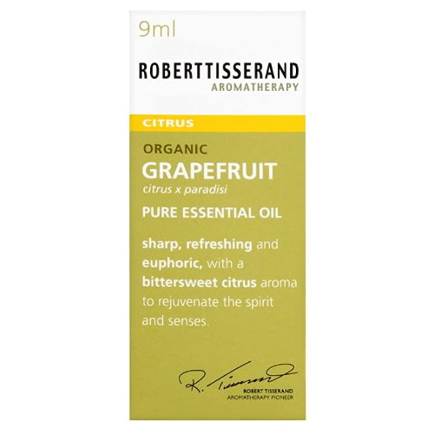 ラップトップ大破誘導ロバートティスランド 英国土壌協会認証 オーガニック グレープフルーツ 9ml