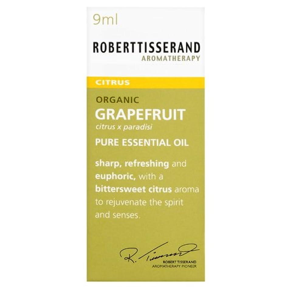 線形ライセンス朝ごはんロバートティスランド 英国土壌協会認証 オーガニック グレープフルーツ 9ml