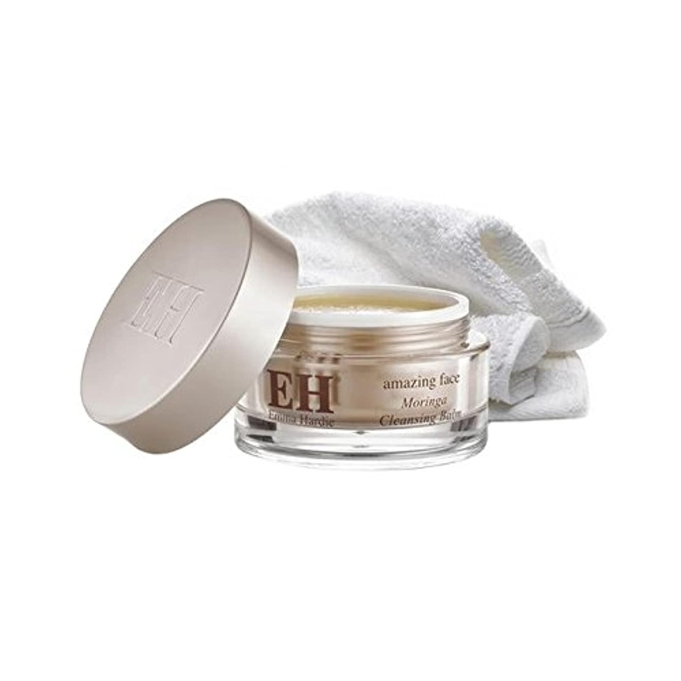 Emma Hardie Amazing Face Moringa Cleansing Balm with Cleansing Cloth 100ml (Pack of 6) - クレンジング布100ミリリットルとエマ?ハーディ...