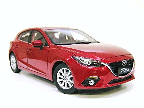 Mazda特注 1/18 マツダ アクセラ スポーツ (ソウルレッドプレミアムメタリック)