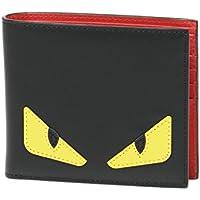 (フェンディ) FENDI 二つ折り財布 BAG BUGS ブラック 7M0169 O73 F0U9T [並行輸入品]