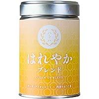 はれやかブレンド CLEAN UP BLEND[有機ダンディライオンルート + 浅煎りほうじ茶]リーフ缶入り(40G)ナッツ系の甘さ香ばしさ。中からスッキリしたい方に。