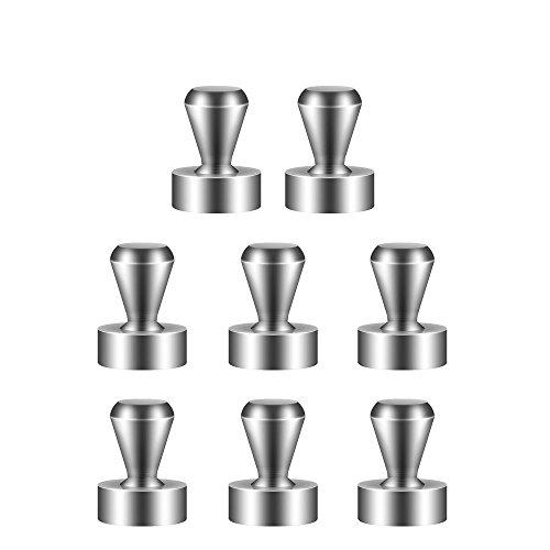 [해외]BTLIFE 초강력 자석 핀 자석 압정 학교 용품 | 냉장고 |지도 | 게시판에 최적 자석 핀 12 * 16mm (8 개입)/BTLIFE Super strong magnet pin Magnet push pin Suitable for school supplies | refrigerator | map | bulletin board Magnet pin 12 * 1...