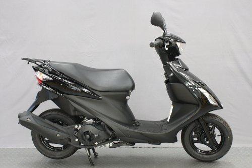 スズキ アドレスV125S FI 125cc 黒 原付バイク 本体 国内14年モデル・新車乗出し価格