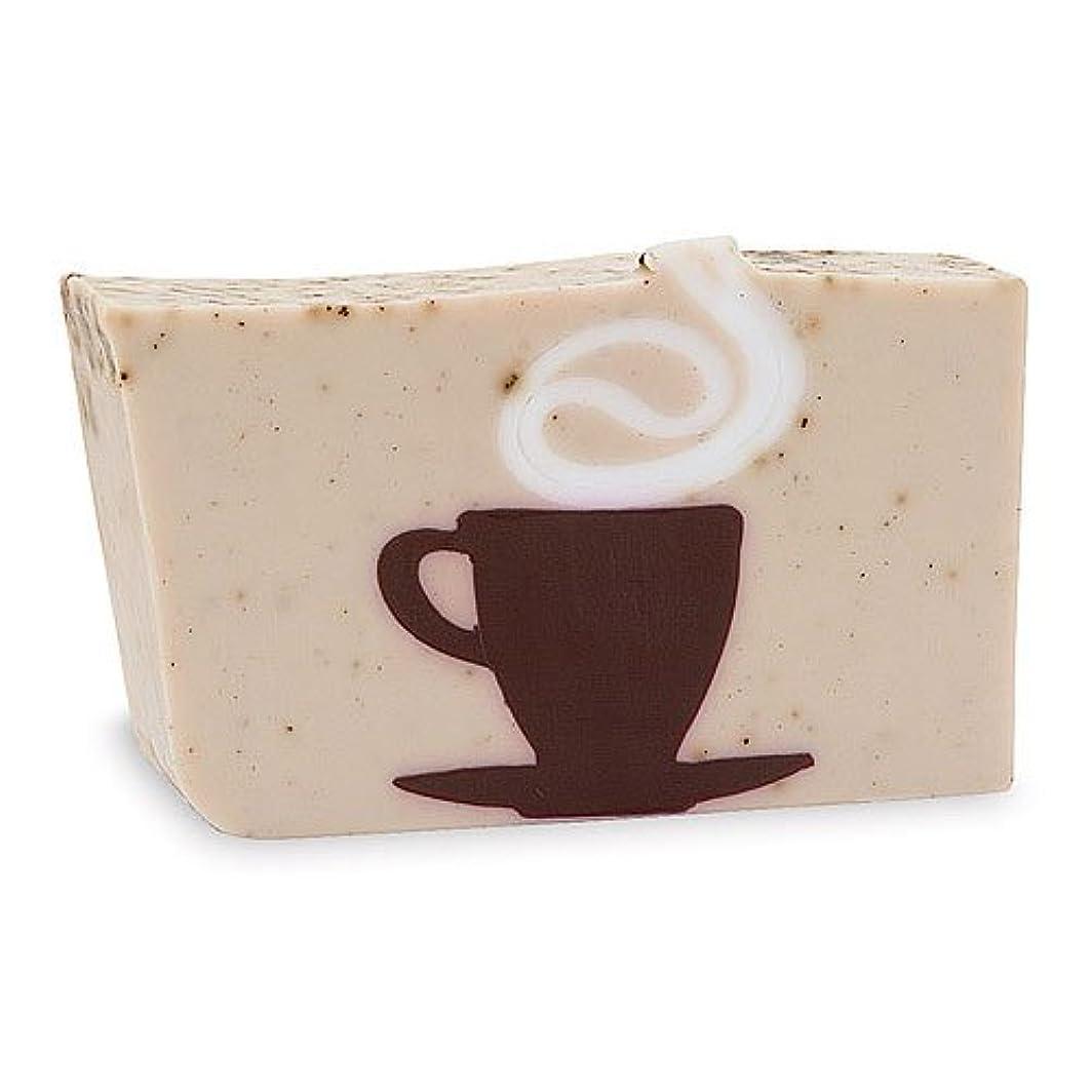 ベッドを作る故国膨らみプライモールエレメンツ アロマティック ソープ カフェオレ 180g 植物性 ナチュラル 石鹸 無添加