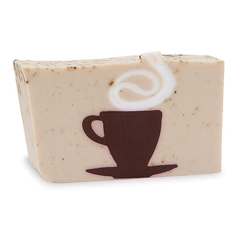 実現可能性特徴欠伸プライモールエレメンツ アロマティック ソープ カフェオレ 180g 植物性 ナチュラル 石鹸 無添加