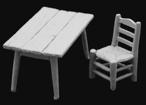 アンドレアミニチュアズ SG-A20 Country table and chair