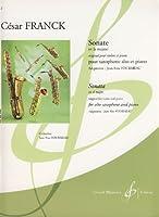 FRANCK - Sonata en La Mayor para Saxofon Mib y Piano (Fourmeau)