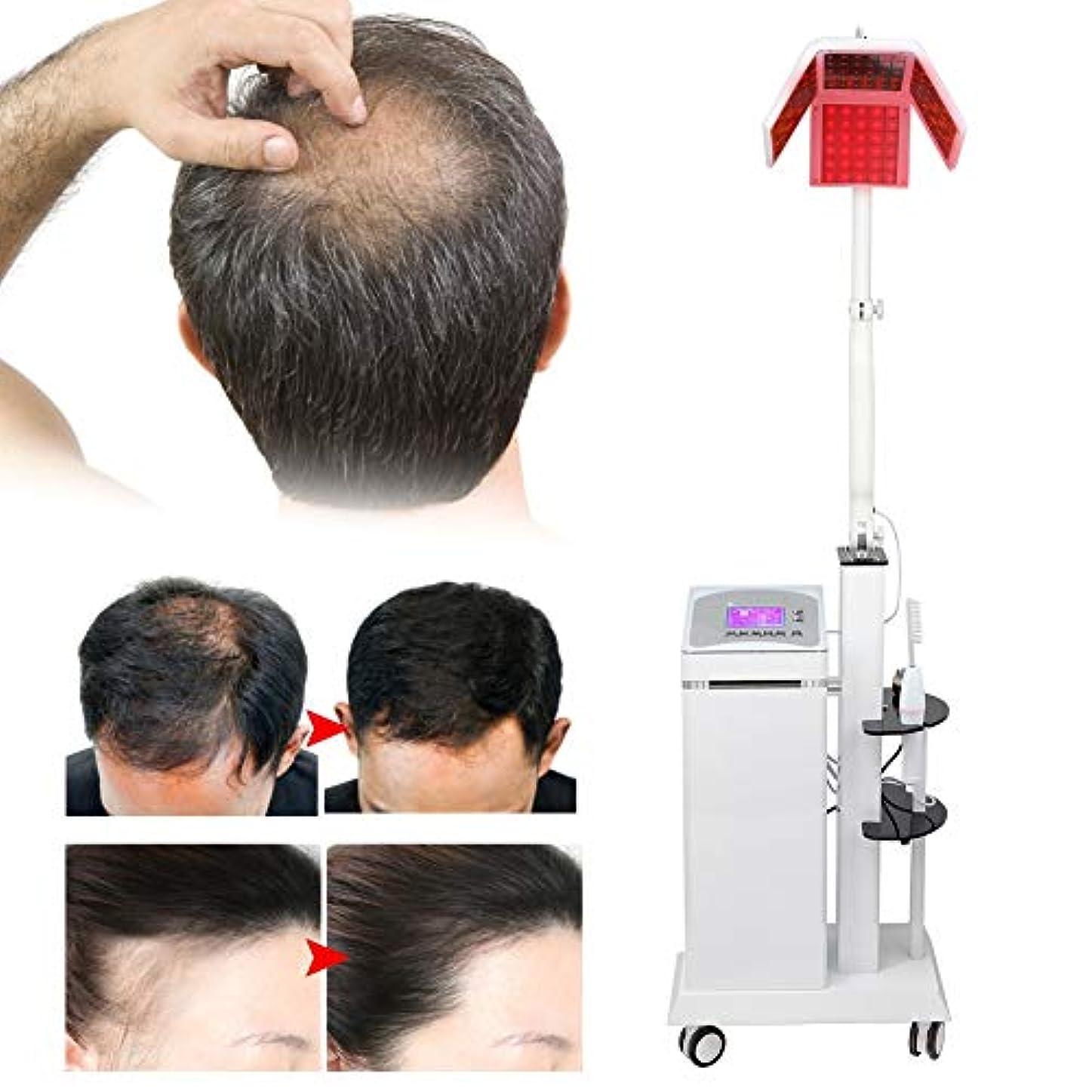 制限する貪欲じゃない男性および女性向けの脱毛、薄毛、脱毛、脱毛のソリューションのための脱毛マシン、修復および再生治療システム, 髪の成長レーザーマシン脱毛治療ジェネレーターヘアケア機器(米国プラグ110 v)