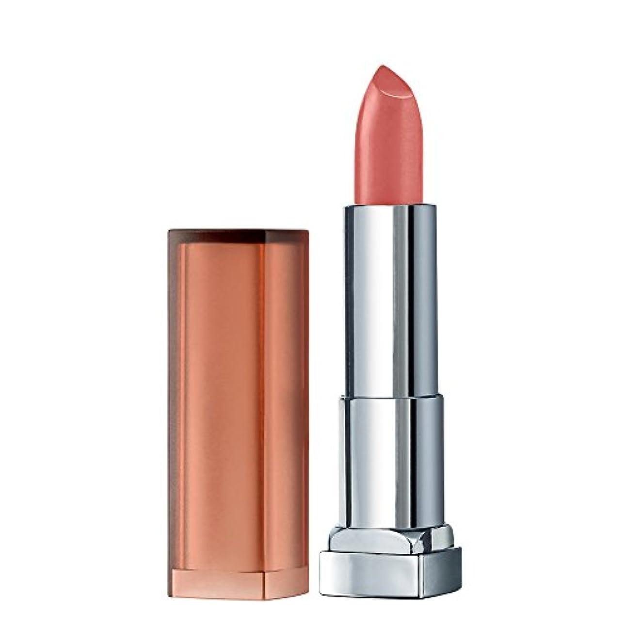 努力する化粧とんでもないメイベリン カラーセンセーショナル リップスティック インティマットコレクション MNU 10 ピンクベージュ