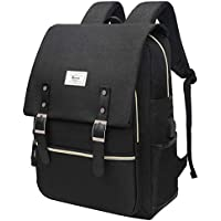 Unisex College Bag Fits up to 15.6'' Laptop USB Charging Port Waterproof Casual Rucksack School Backpack Daypacks