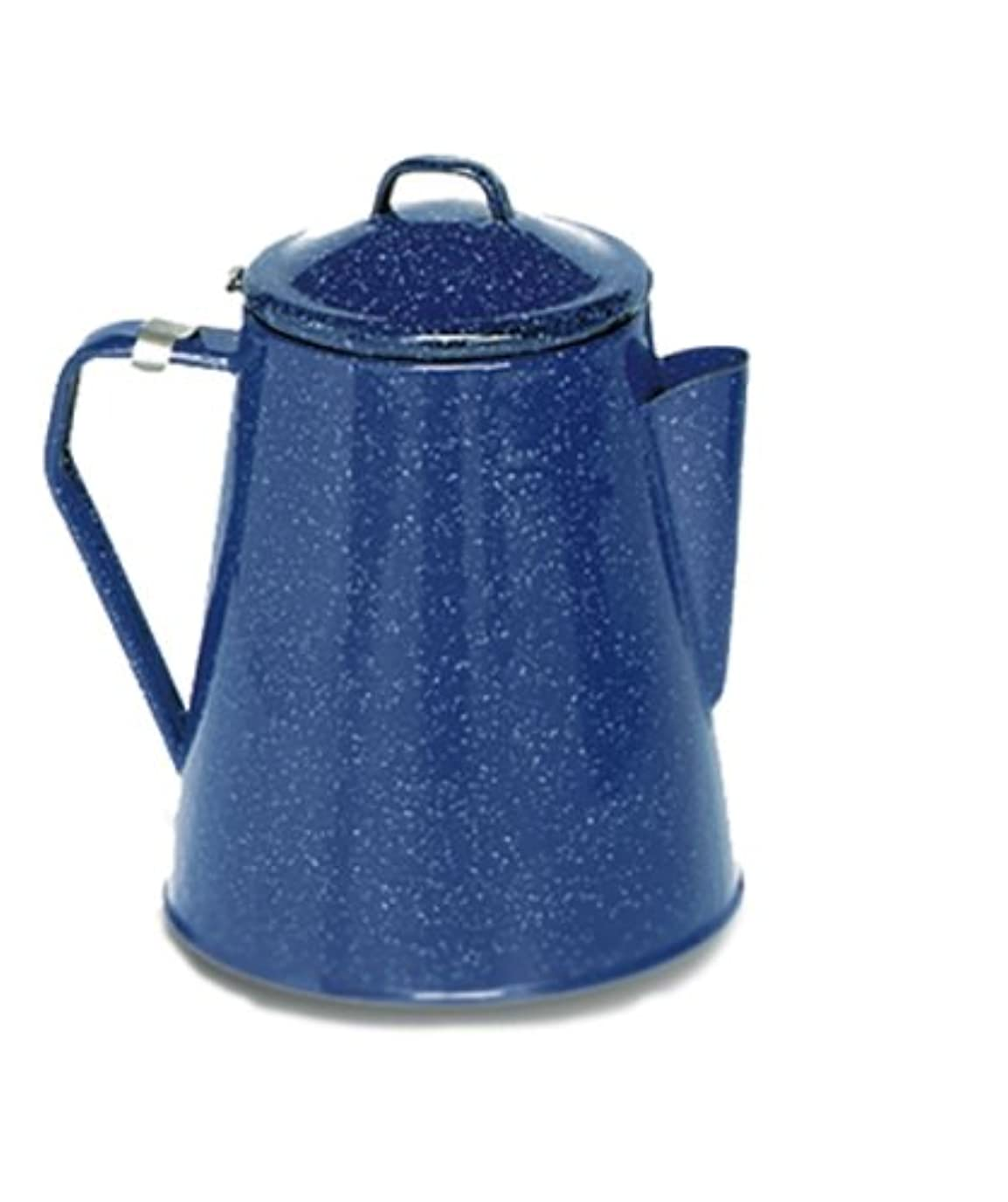 同行一貫性のないエミュレートするTexsport Camping Enamel Percolator Coffee Maker, Blue by Texsport