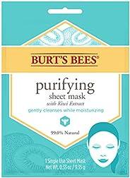 Burt's Bees Face Sheet Mask, Purifying, 1