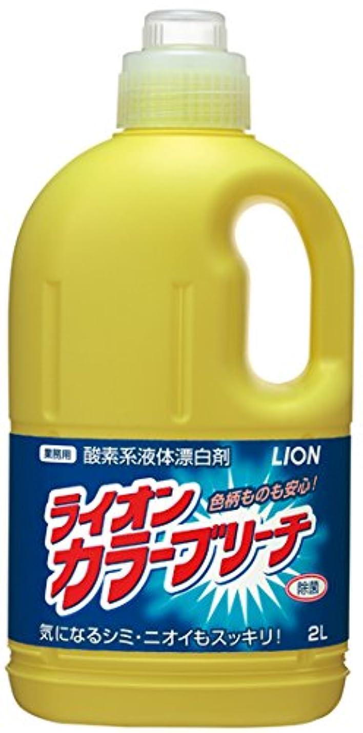 シャッター優越緊張する【業務用 大容量】ライオンカラーブリーチ 衣料用漂白剤 2L