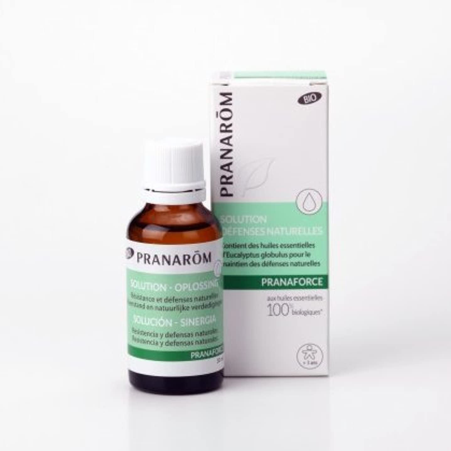 認可分析的パトワメディカルアロマのプラナロムが作った実践的ブレンド精油 プラナフォースローション