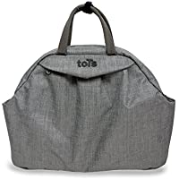 Chic Baby Changing Bag Grey Bag in Bag 45 x 14 x 32?cm with many Accessories by ToTs by Smartrike
