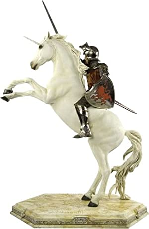 The Chronicles Of Narnia / The Lion, The Witch & The Wardrobe - Statue : Peter On Unicorn