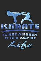 KARATE NOTIZBUCH: Karate Notizbuch die Perfekte Geschenkidee fuer Kampfsportler oder Karate Fans. Das Taschenbuch hat 120 weisse Seiten mit Punktraster die dich beim Schreiben oder skizzieren unterstuetzten.