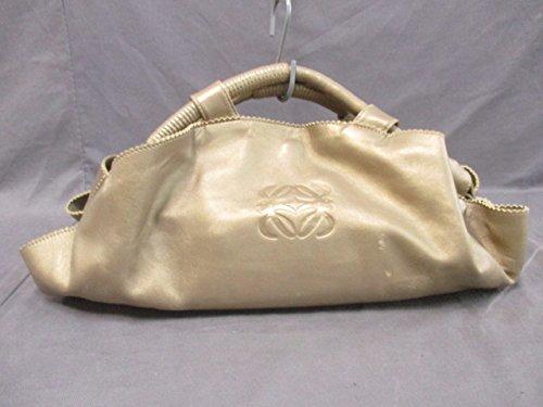 (ロエベ)LOEWE ハンドバッグ ナッパアイレ ゴールド 315.82.B52 【中古】