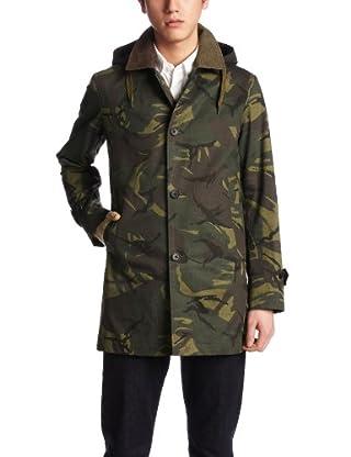 British Camouflage Balmacaan Coat 13020300100410: Khaki