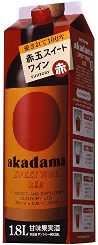 赤玉スイートワイン 赤 P1.8l