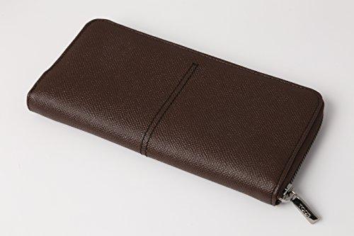 【TOD'S(トッズ)】ラウンドファスナー長財布 ブラウン XAMAAAA-A1400-D0US-804 [並行輸入品]