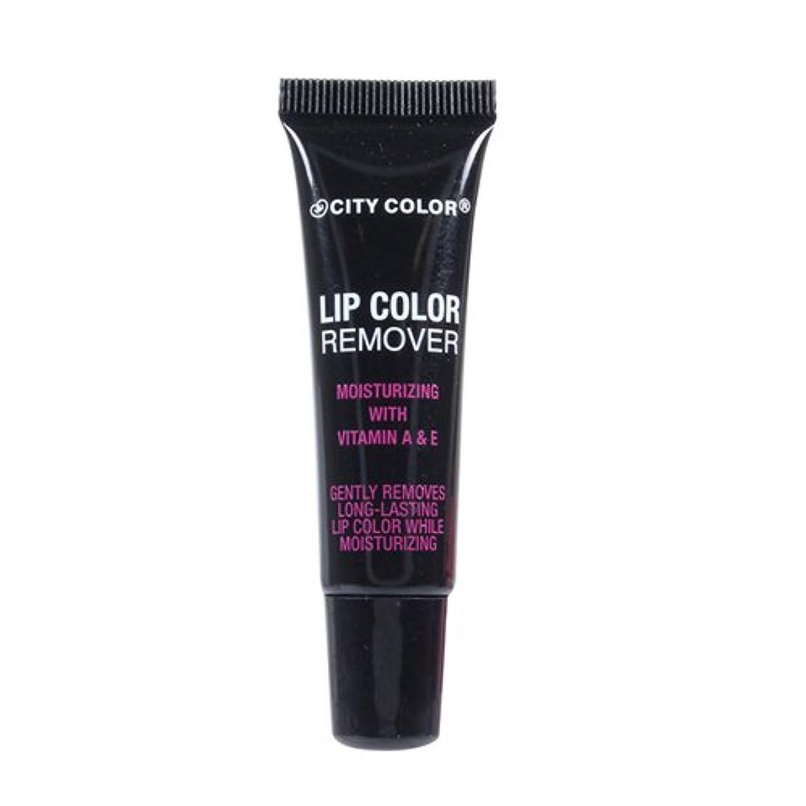 破壊するでも災難(6 Pack) CITY COLOR Lip Color Remover (並行輸入品)