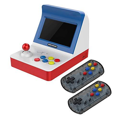 Goolsky A8 レトロ アーケード ゲームコンソール ゲーム機 内蔵3000クラシックゲーム TFカード 拡張 サポート ゲーム パッドコントロール AVアウト 4.3