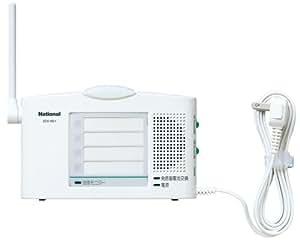 Panasonic 小電力型ワイヤレスコール卓上受信器 ECE1601P
