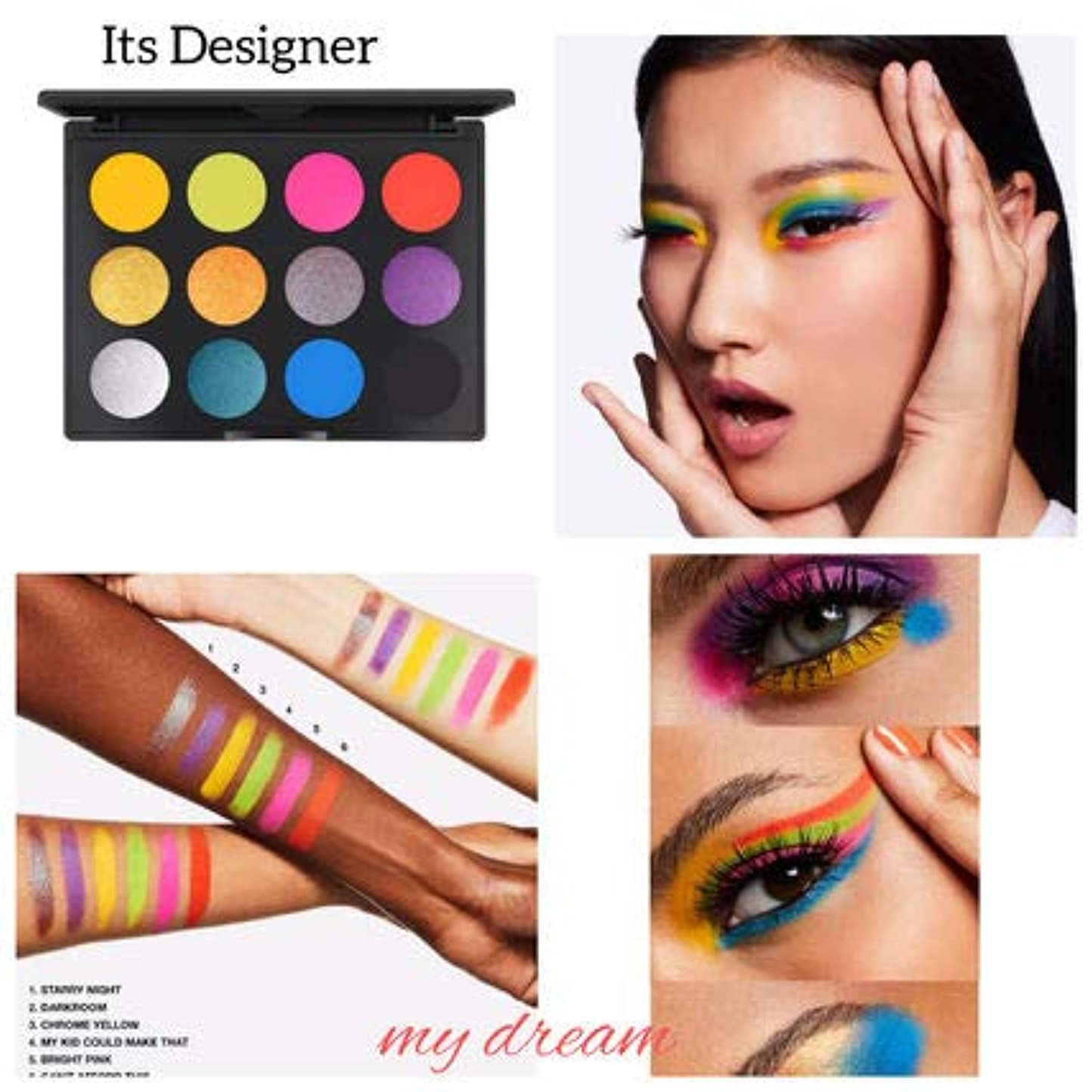 役に立つぼんやりした不安定MAC マック Art Library Eyeshadow Paletteアイシャドウ パレット12色ITS DESIGNER [並行輸入品]