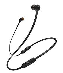 JBL T110BT Bluetooth イヤホン ワイヤレス マイクリモコン付き マグネット搭載 ブラック  JBLT110BTBLKJN 【国内正規品 メーカー1年保証付き】