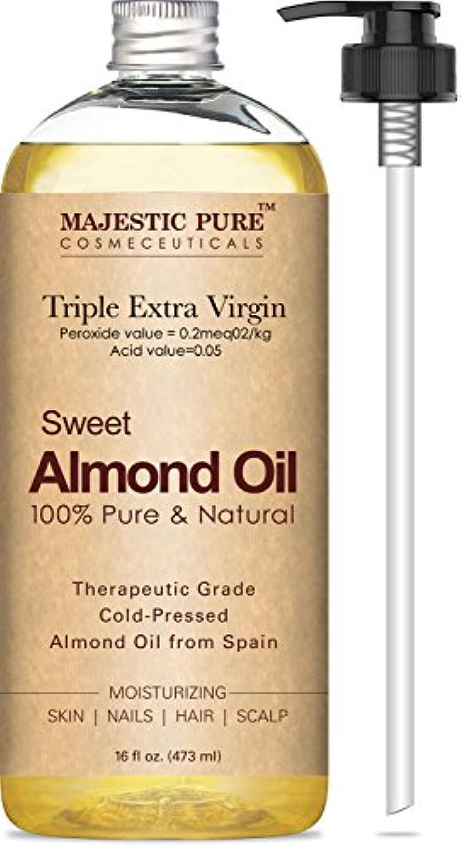 理容室ジョイント測定可能Sweet Almond Oi 100% Pure and Natural 16 fl 473 ml